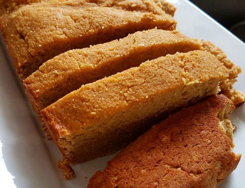 Pumpkin Spice Almond Cake