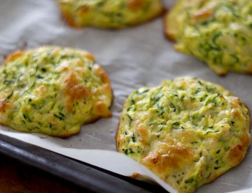 Savoury Low Carb Zucchini and Cheddar Scones