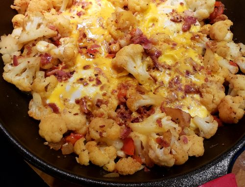 Low Carb Cauliflower Hash
