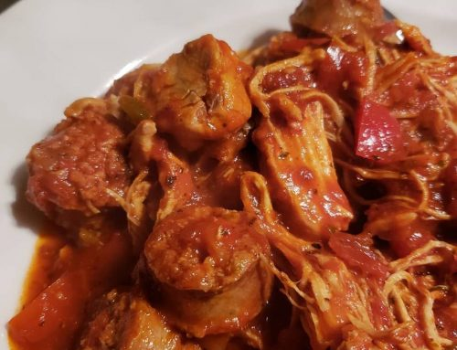 Easy One Pot Chicken and Sausage