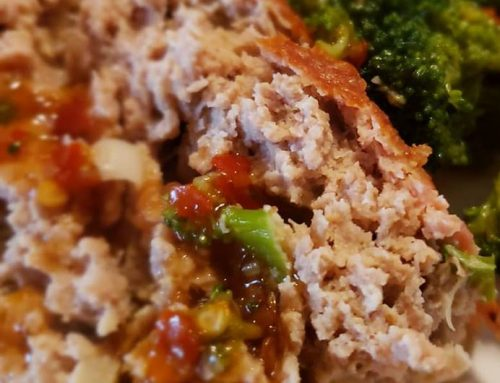 Simple Low Carb Chicken Meatloaf
