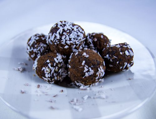Carob and Coconut Balls