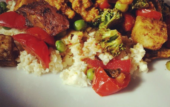 curry veg