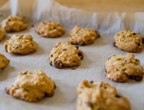Flourless Peanut Butter & Chocolate Chip Cookies