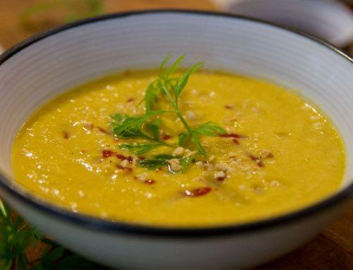 Coconut Carrot Thai Soup